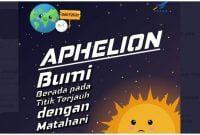 Fenomena Aphelion Ada Apa Dengan Aphelion