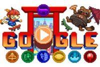 Google Doodle Untuk Olimpiade Tokyo 2020