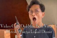 Video Cafe Del Mar Bali Viral di Tiktok Warga Lokal Diusir